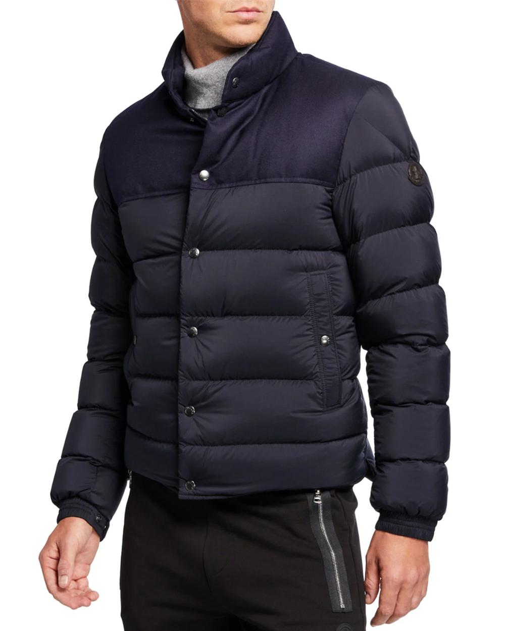 Moncler Men S Rousseau Puffer Jacket Puffer Jackets Jackets Moncler [ 1250 x 1000 Pixel ]