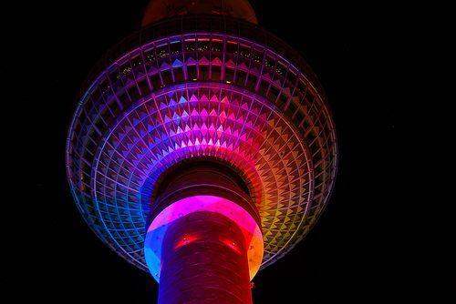 Fernsehturm Berlin | Berliner Fernsehturm / Berlin TV Tower @ Berlin FESTIVAL OF LIGHTS