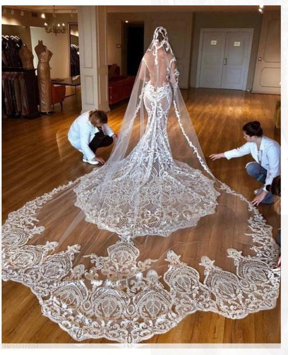 Haute Couture Wedding Gown: 1 Yard Haute Couture Lace Fabric ,luxury Thick Embroidery
