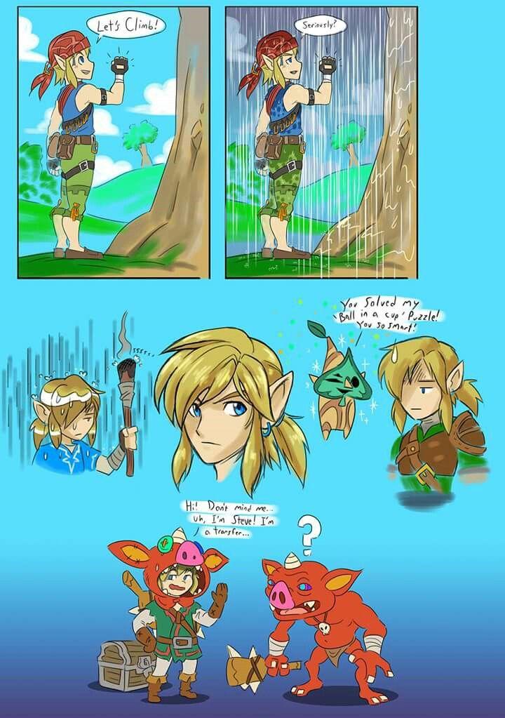 Breath Of The Wild Zelda Funny Legend Of Zelda Memes Legend Of Zelda