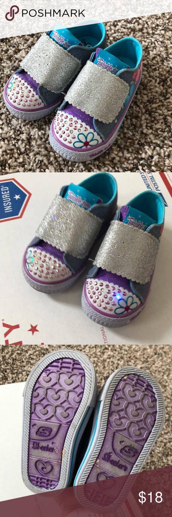 Skechers Twinkle Toes Size 5 | Skechers