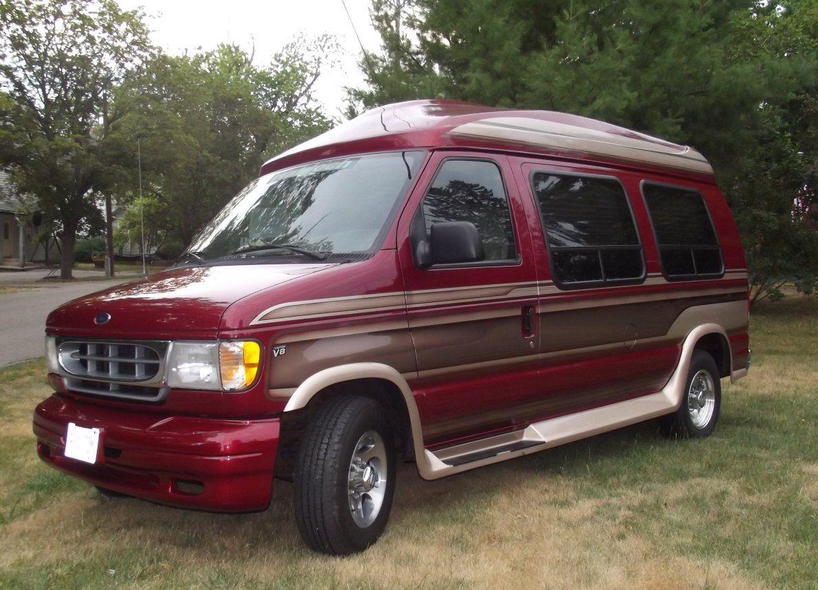 1999 ford e 250 econoline conversion van 5 4 ltr v8 triton. Black Bedroom Furniture Sets. Home Design Ideas