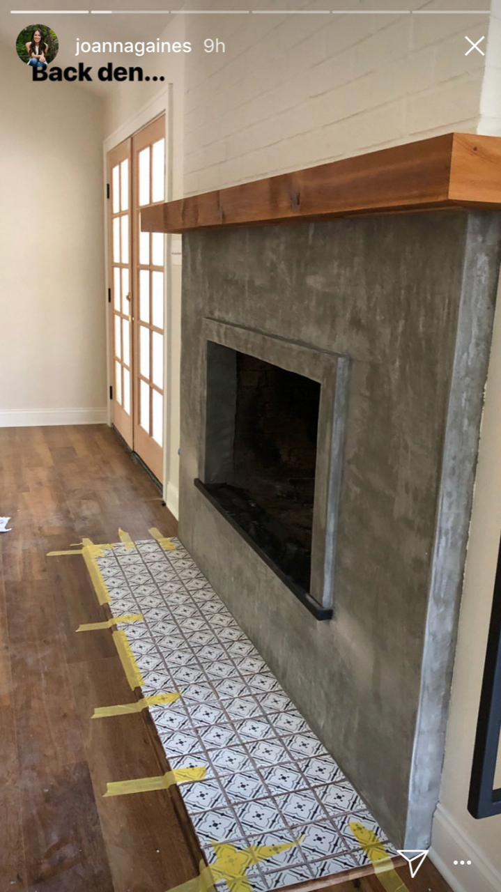 Smart Tile Fireplace Makeover