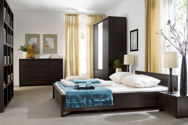 What Colors Go Well With Dark Brown Wenge Furniture 35 Ideas Decor10 Blog White Modern Furniture Bedroom Furniture Sets Furniture