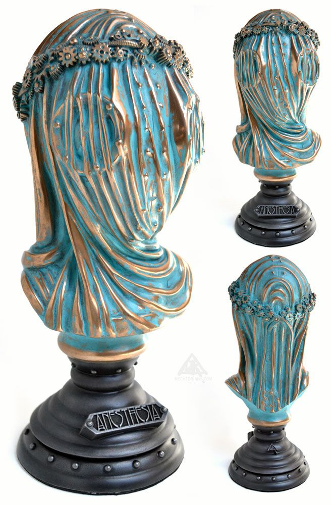 """Daktor A. reveals """"Anesthesia - The Dream Dealers Daughter"""" sculpture for 'Conjoined 7'!!!"""