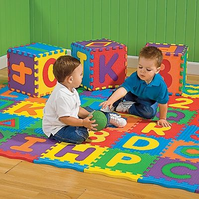 Our Exclusive Our Daycare Quality Foam Puzzle Mats Are