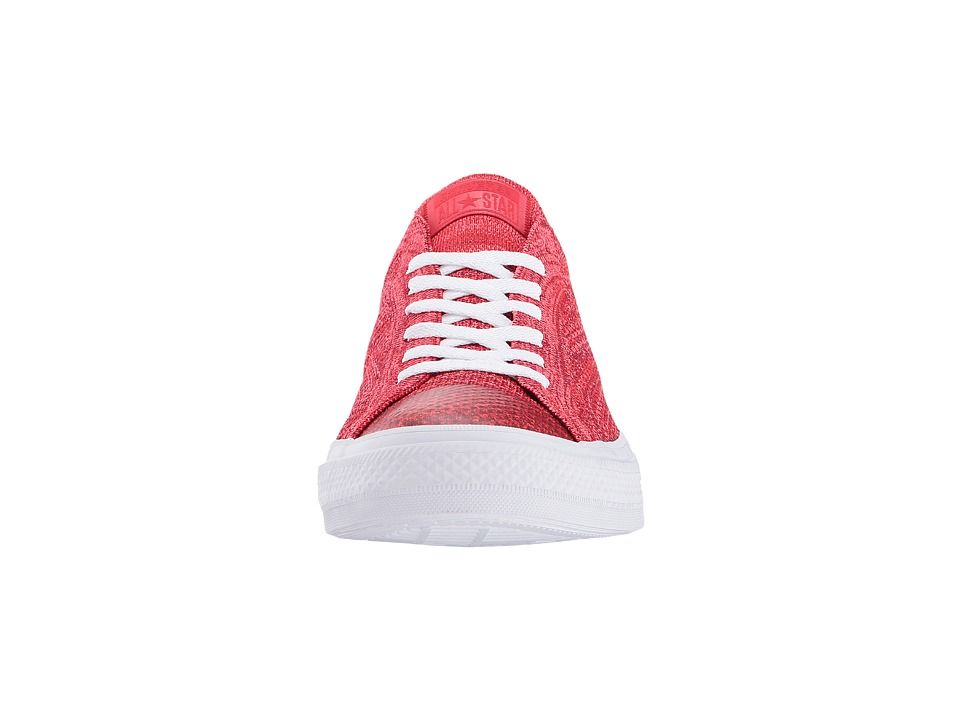 01b0c1fdf0f Converse Chuck Taylor(r) All Star(r) X Nike Flyknit Ox Men s Classic Shoes  Casino Team Red White