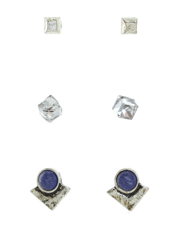 Darla Set of 3 Earrings