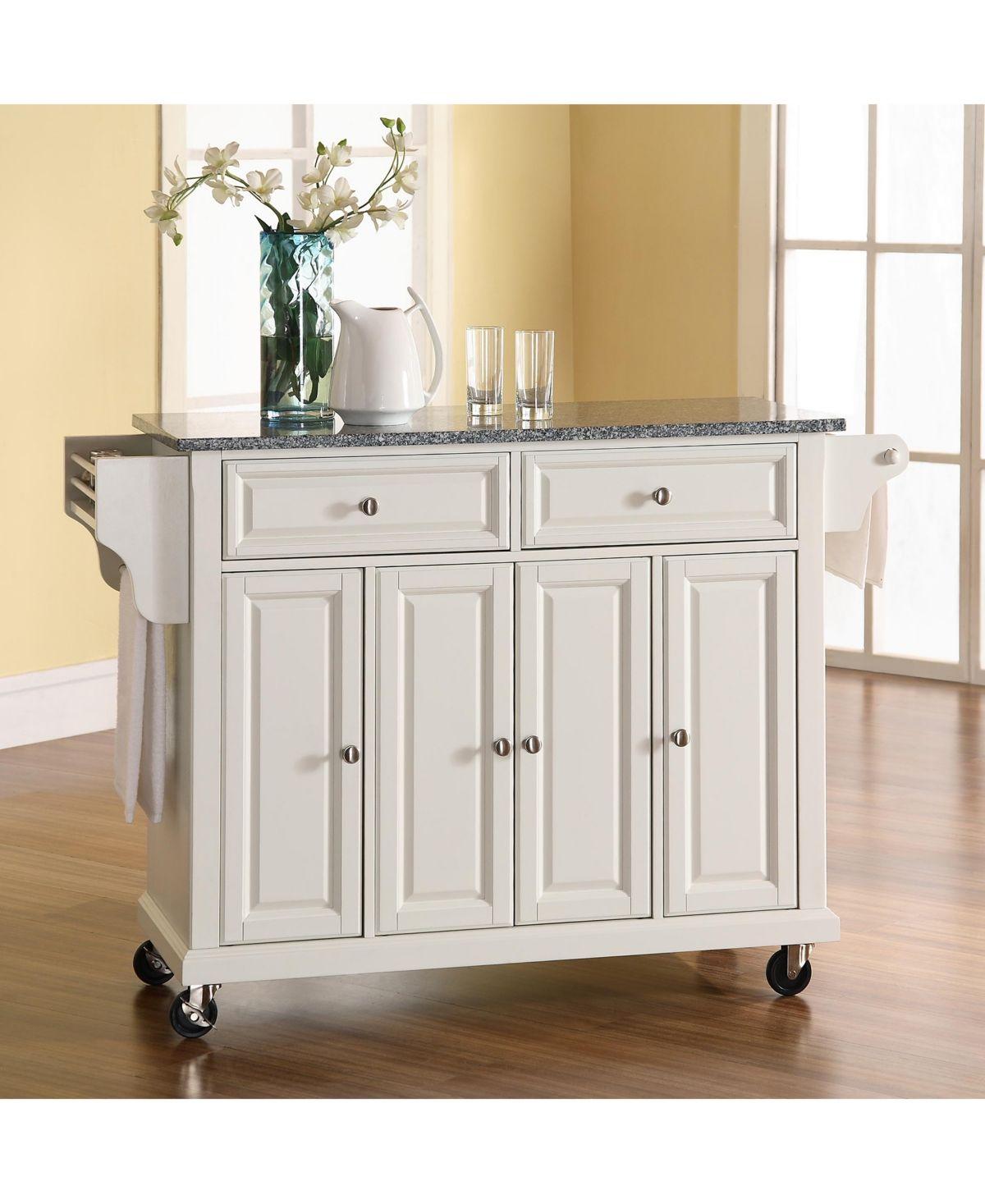 Crosley Solid Granite Top Kitchen Cart