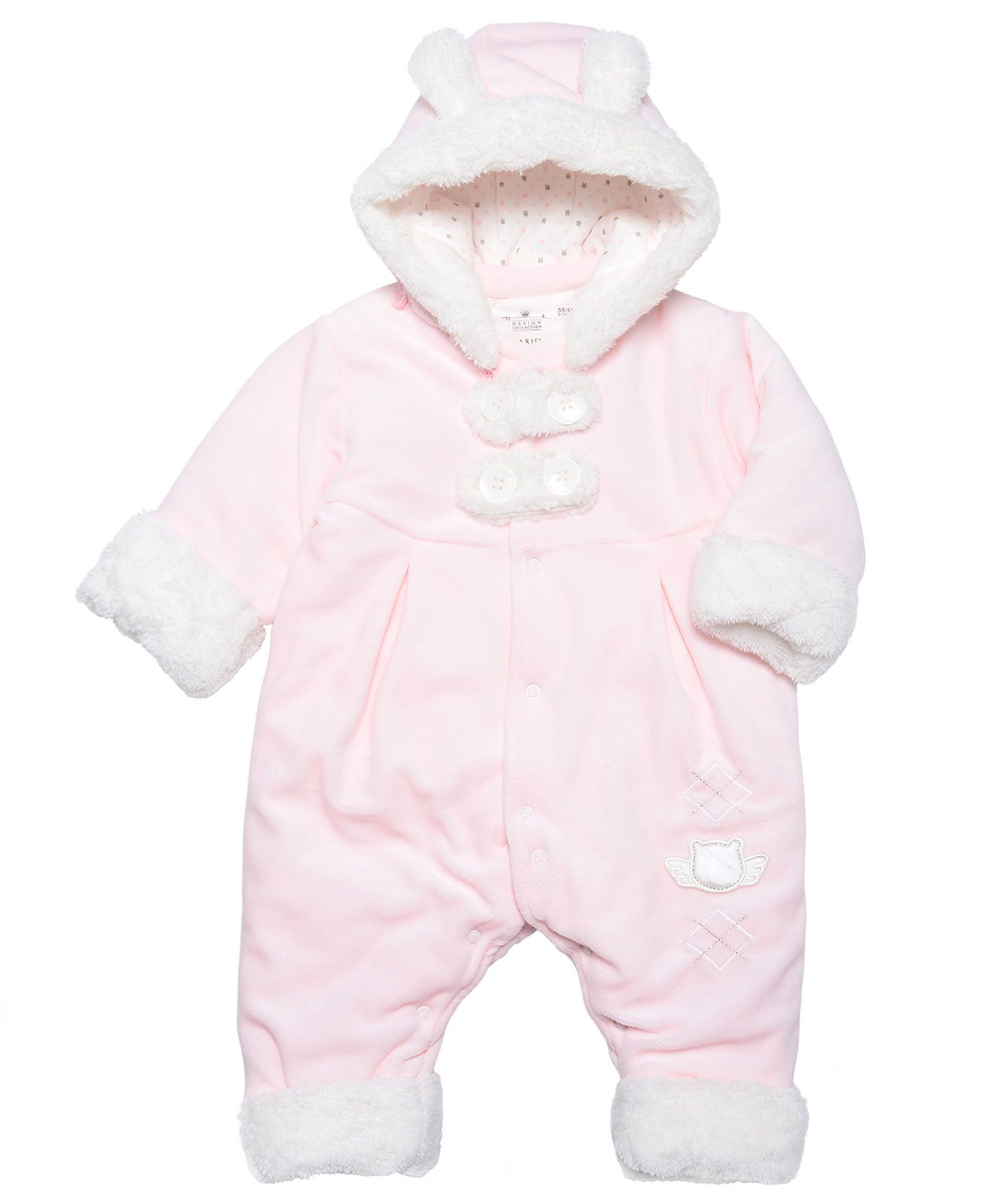 Baby Girl Winter Premier Snowsuit – Pink
