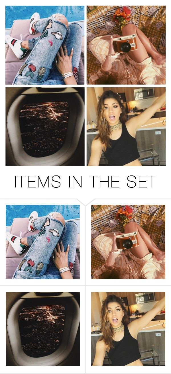 """Introducing Andrea"" by gabby-may ❤ liked on Polyvore featuring art"