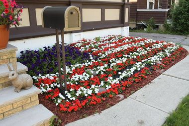 17 Best images about front yard on Pinterest The flag July 1