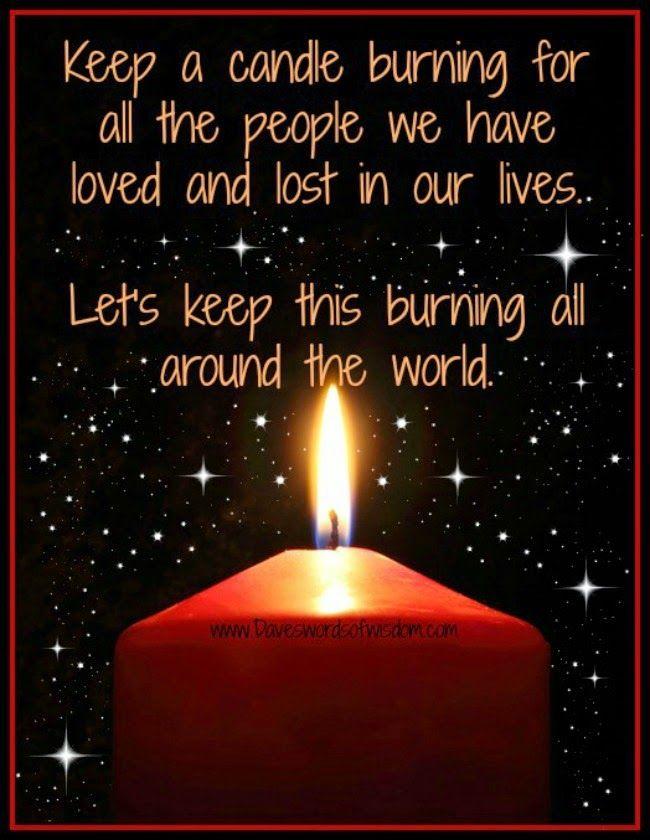 Keep the love burning
