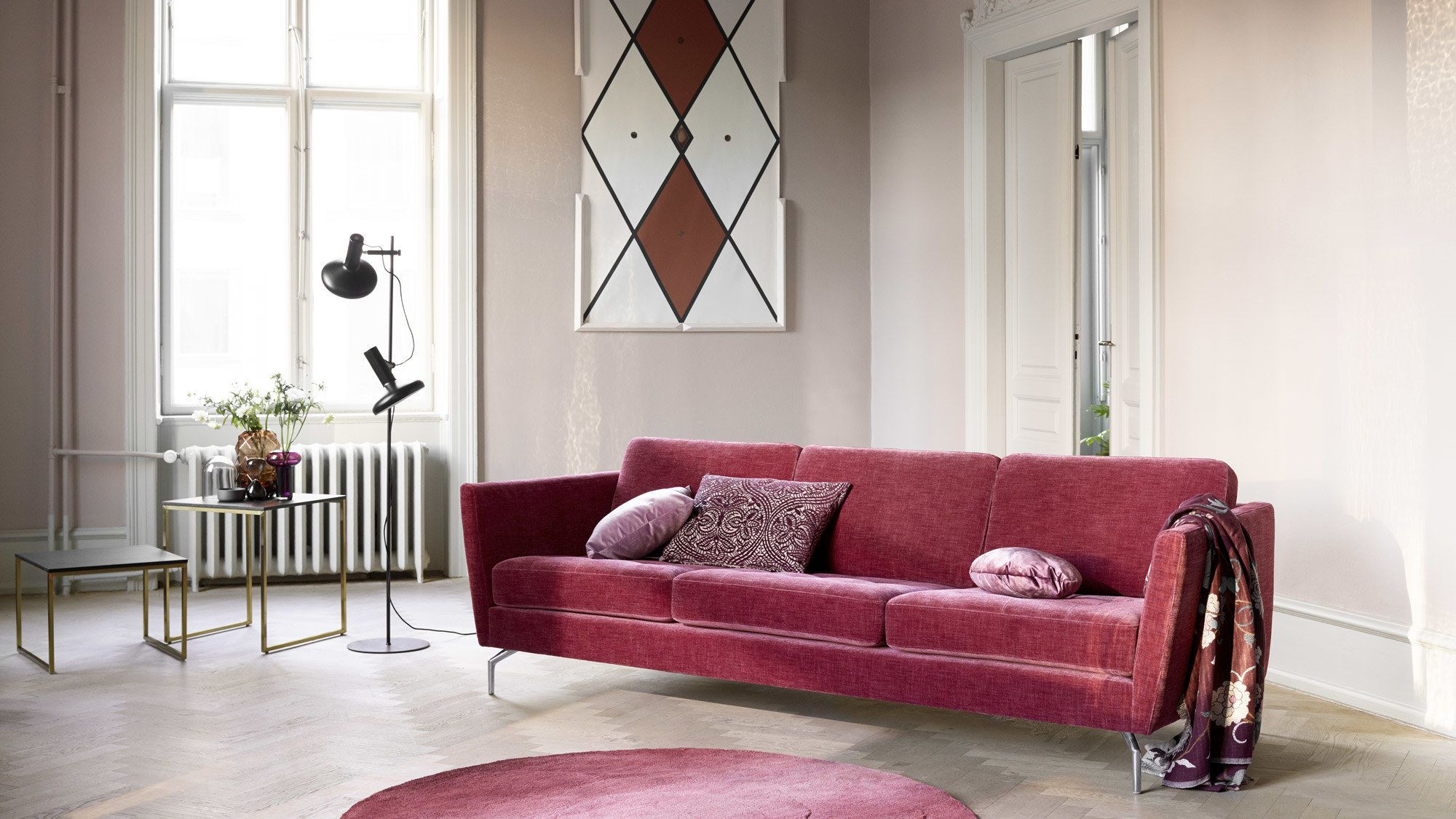 Osaka Sofa Tufted Seat Scandinavian Furniture Design Modular Sofa Design Furniture Design