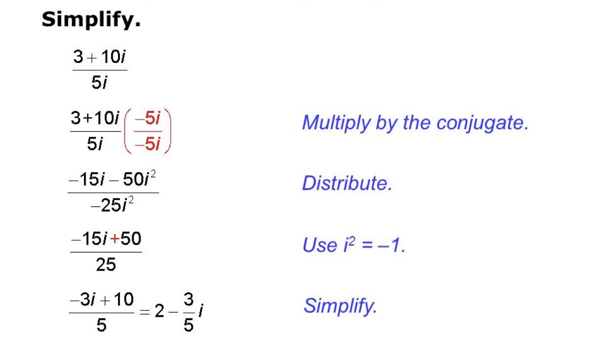 Dividing Complex Numbers Basic Math Worksheets Math Practice Worksheets Number Worksheets Adding and subtracting complex numbers