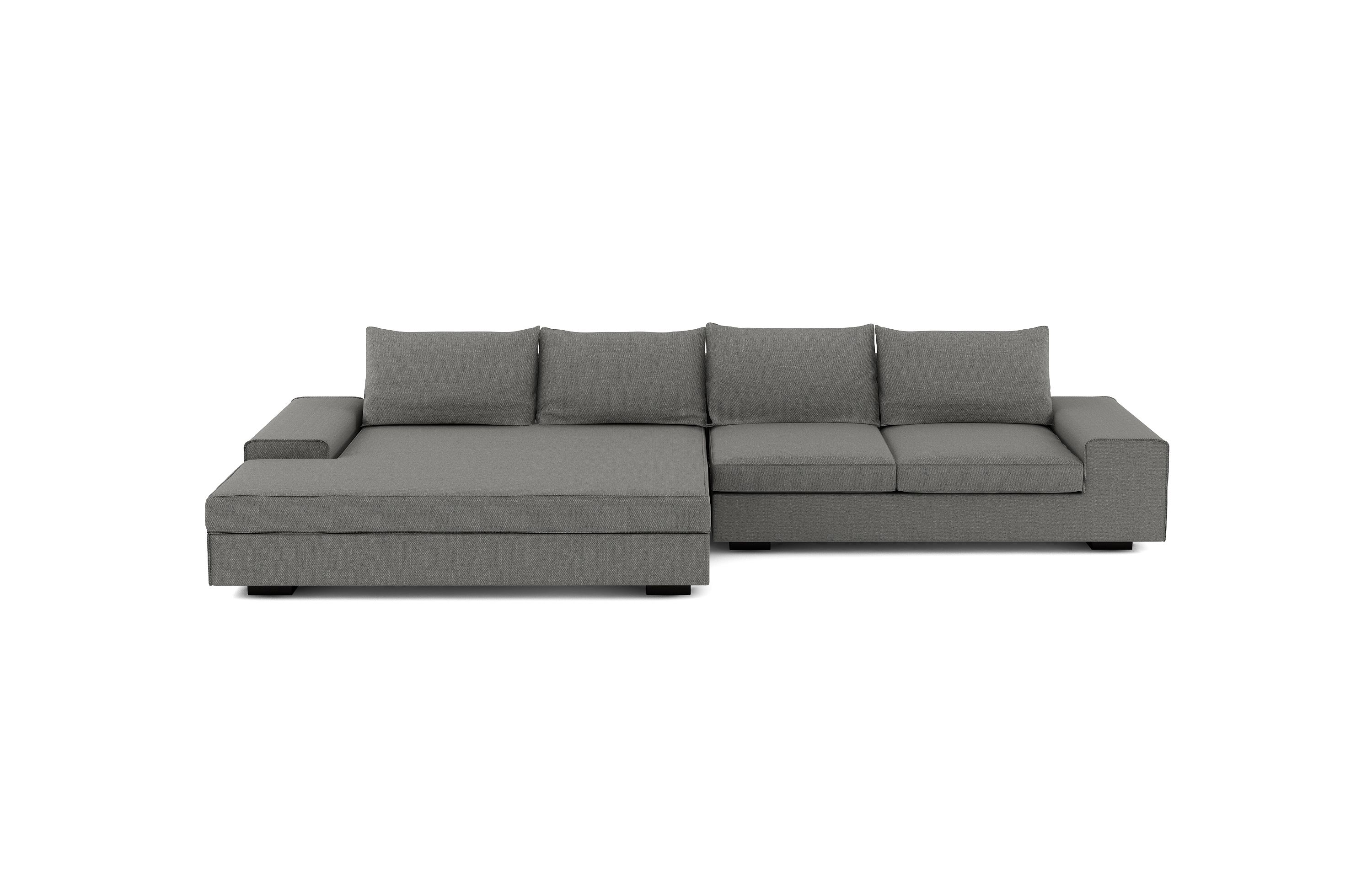 The Viesso Blumen Wide Chaise Sectional