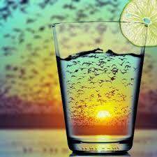 Sunset refraction...