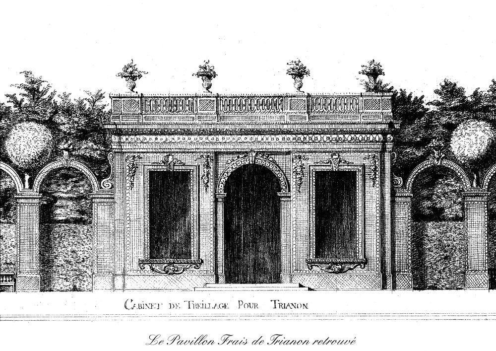 Le pavillon frais versailles castle tricotel the art - Le jardin de versailles histoire des arts ...