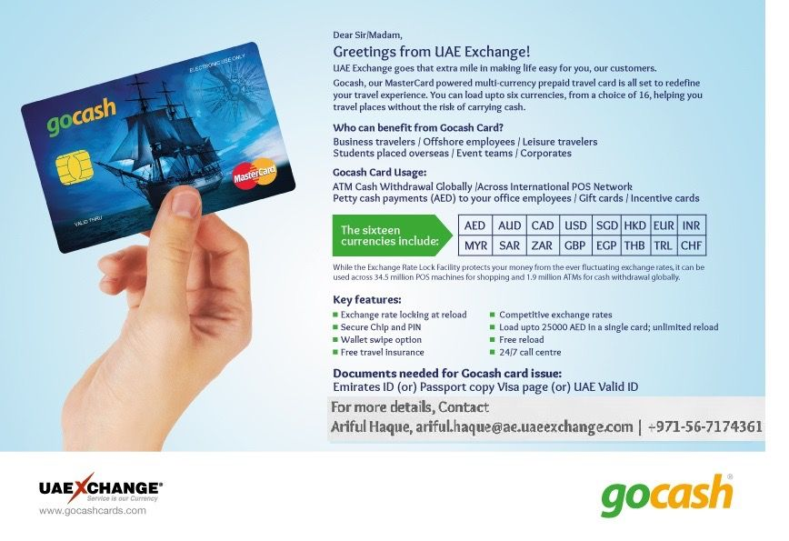 Gocash A Multi Currency Amazing Prepaid Card Traveling By