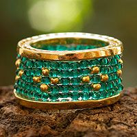 Verdant Fields from @NOVICA, They help #artisans succeed worldwide.