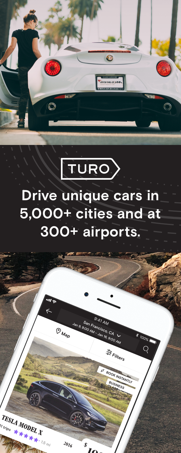 Turo Lets You Rent The Perfect Car Anywhere You Are For Any