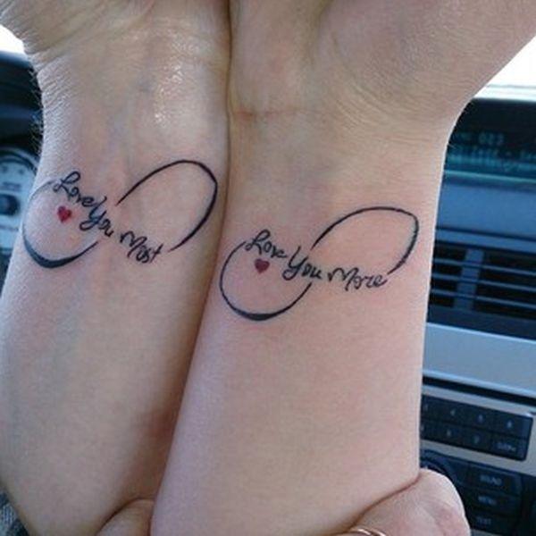Hervorragend 20 Superbes idées de tatouage pour mère et fille, l'amour à jamais  IL09