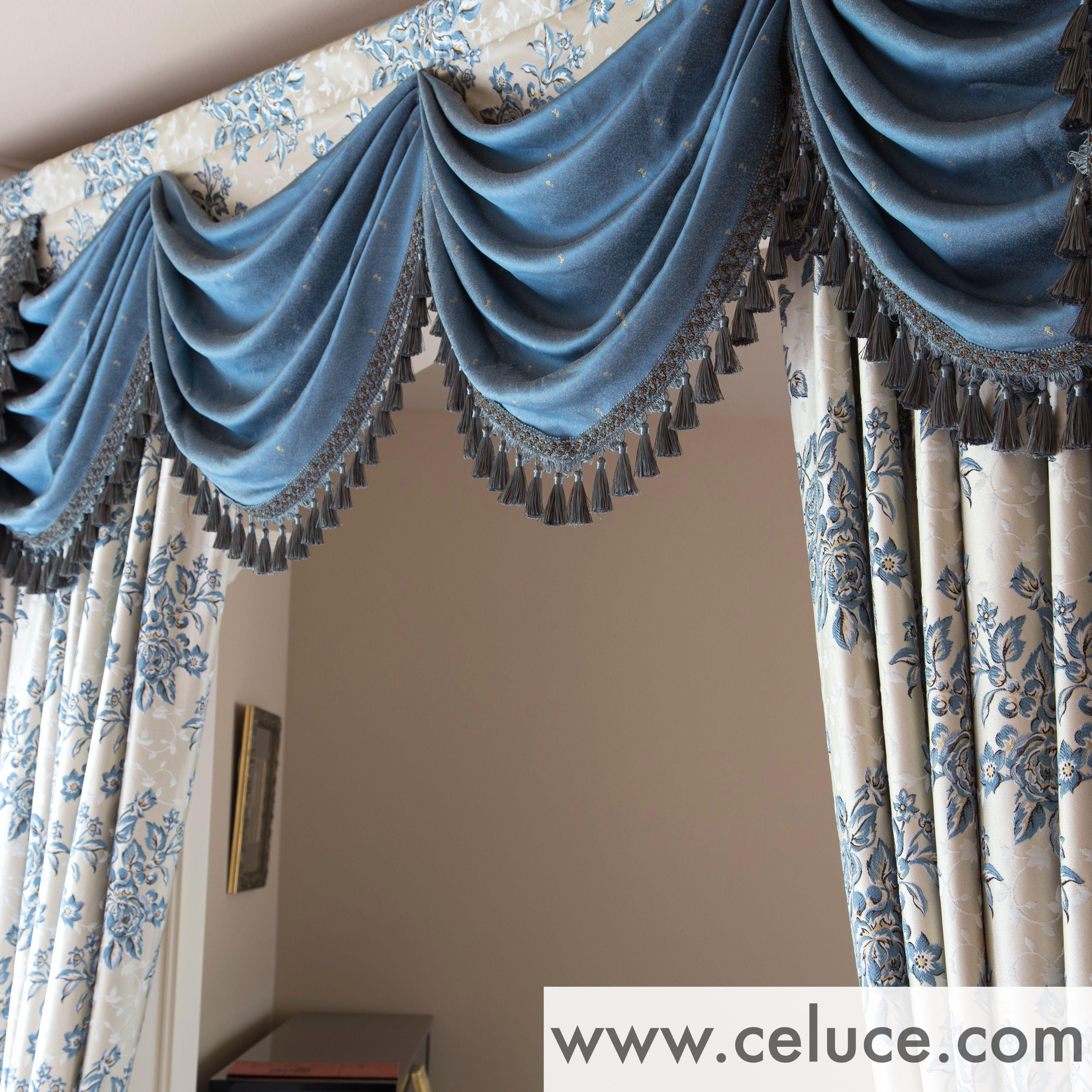 Www Celuce Com Customize Curtains Online Swag Valance Victorian Style Curtains Elegant Curtains Unique Curtains