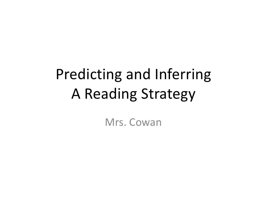 Prediction And Inference 4th Grade By Susancorwin Via
