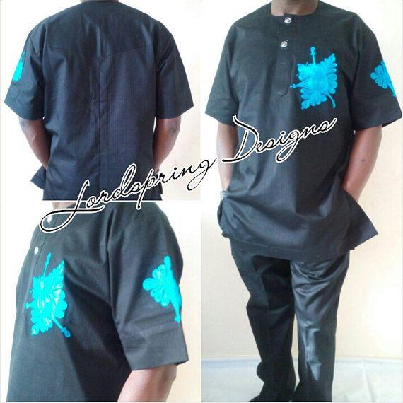 Men's occasion wear Handmade African designs by Lordspringdesigns