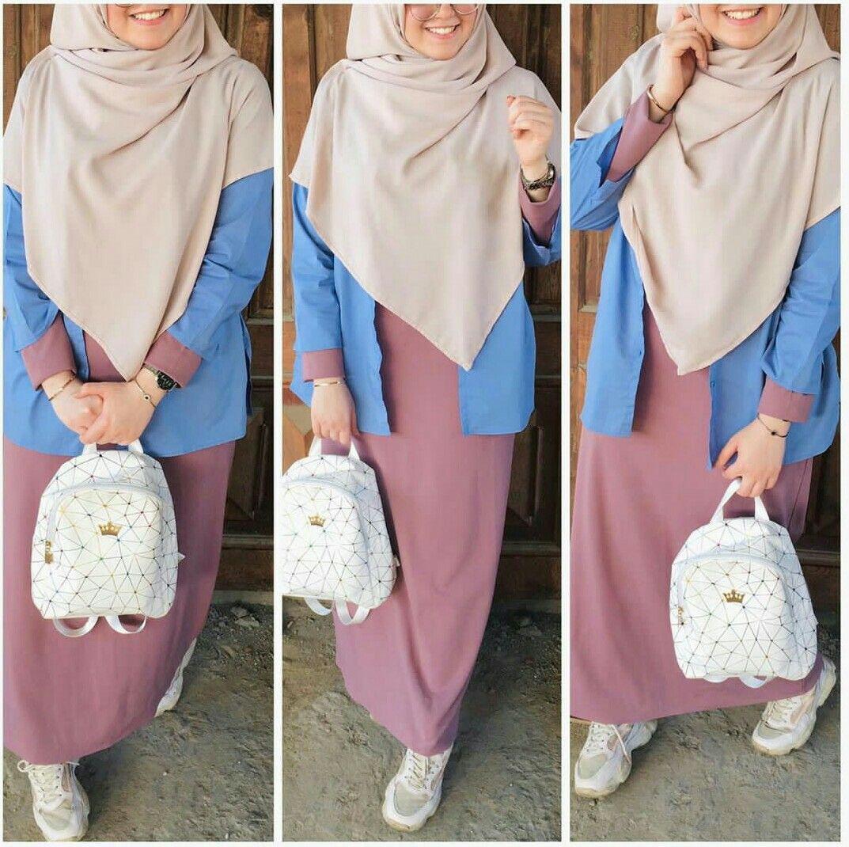 Hijab Fashion Muslim Women Hijab Fashion ملابس محجبات جيبات فساتين لبس كل يوم كاجوال عباية بناتي Muslim Fashion Outfits Muslim Fashion Dress Hijab Fashion