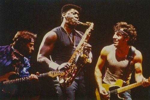 Nils Clarence And Bruce Bruce Springsteen E Street Band Friends In Love