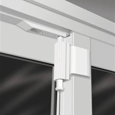 Photo Of The Door Guardian Lock For Sliding Patio Door White By The Door Guardian With Images Best Home Security Patio Doors Sliding Glass Door