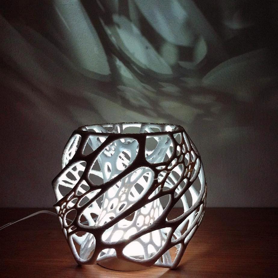 3d Printed Lamp 3dprinting 3dprinting Design 3d Printing Art 3d Printing