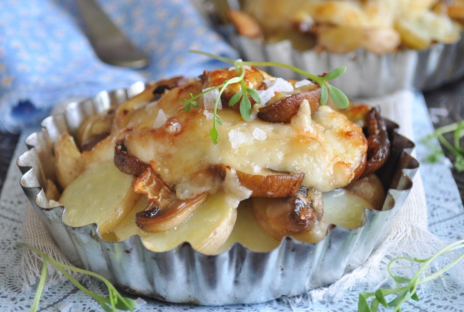 Mouthwatering mushroom and potato bake in 2020 Baking