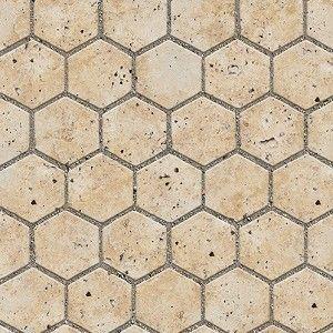 Textures Architecture Paving Outdoor Hexagonal Revit