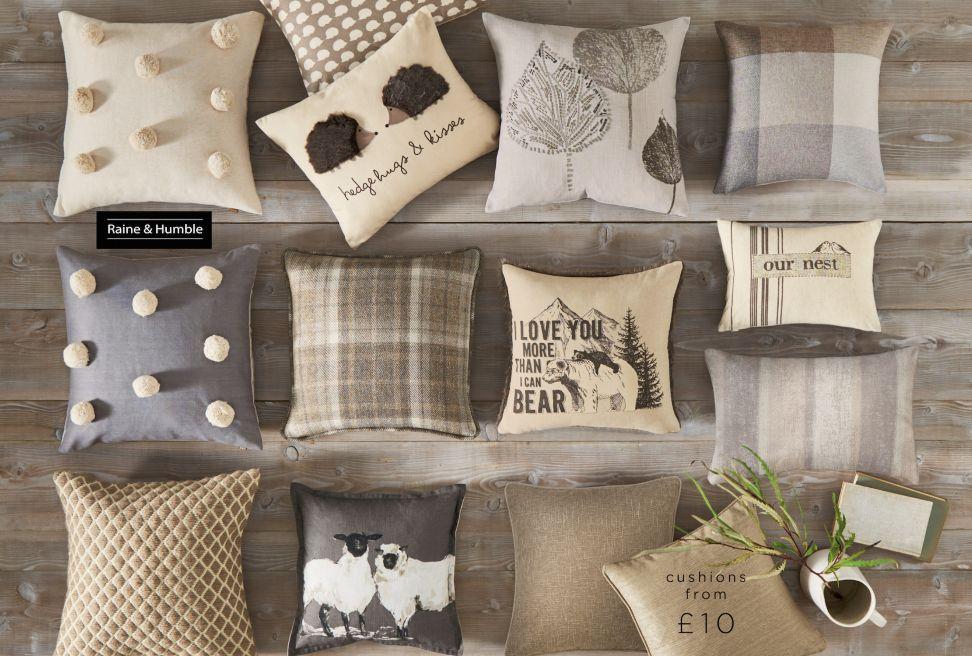 Cushions Throws Home Furnishings