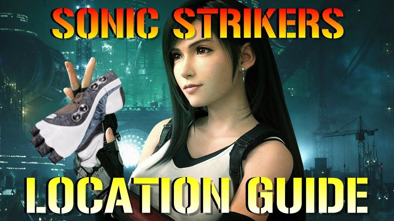 Final Fantasy 7 Remake SONIC STRIKERS! Weapon Guide
