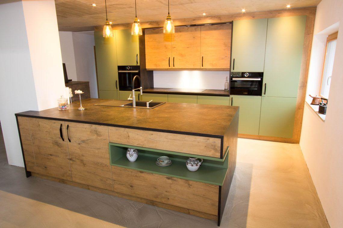 design küche eiche - vom tischler in gmunden | küchen design