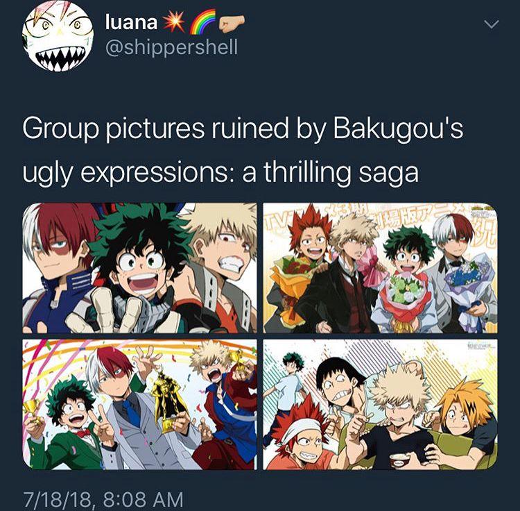 You Mean A Horror My Hero My Hero Academia Manga My Hero Academia Memes
