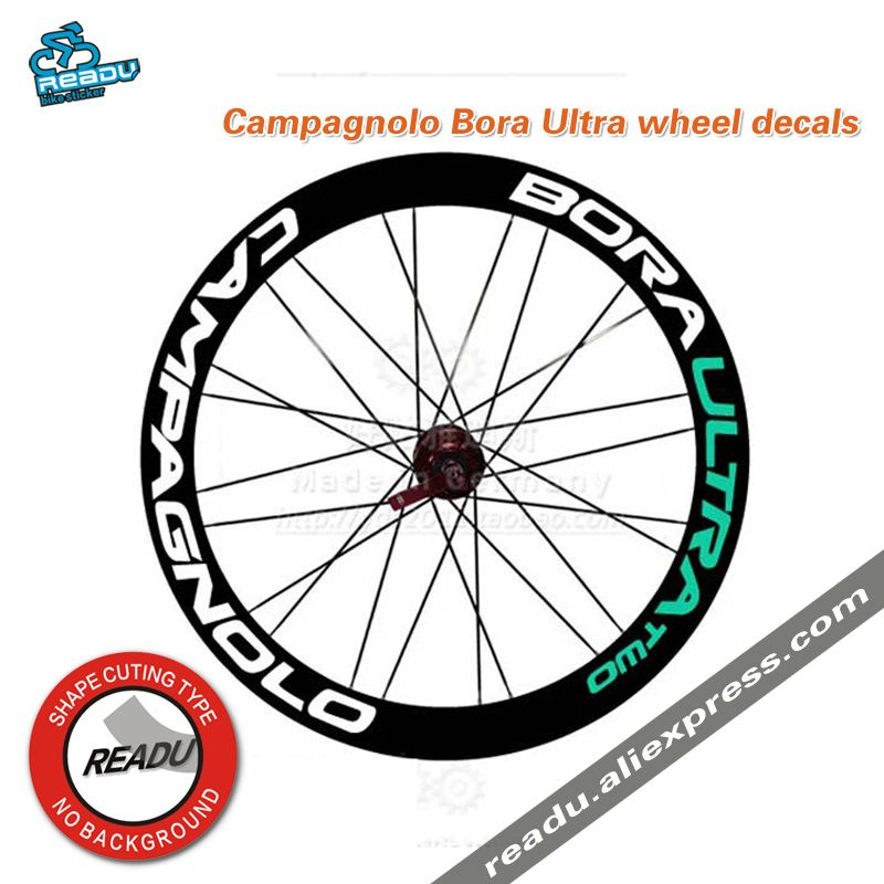 Campagnolo Bike Bicycle Frame Decals Stickers Graphic Adhesive Set Vinyl White