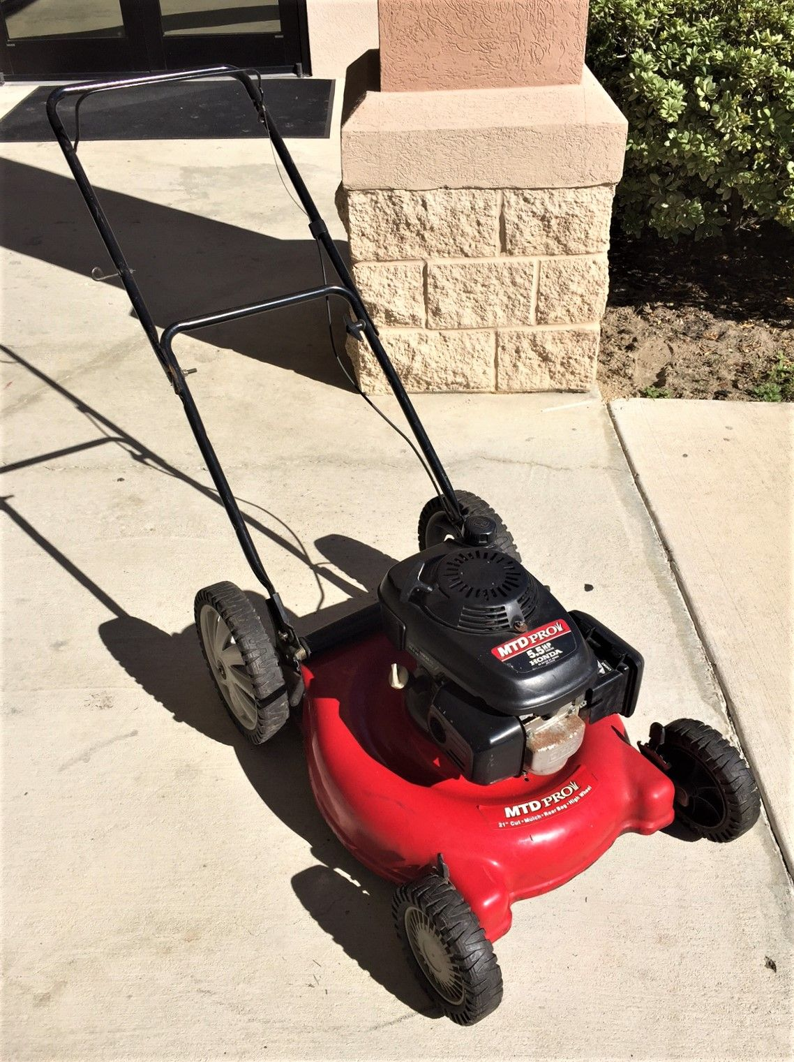 Mtd Pro 11a 588q795 21 Lawn Mower With 5 Hp Honda Gas Ed Engine For 189 99 Available At Gadgets And Gold