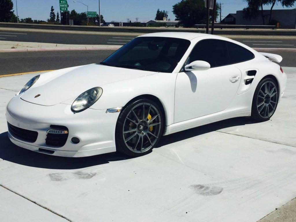 2007 Porsche 997 Turbo In White Porsche 911 Turbo Porsche