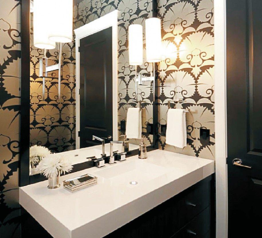 Extraordinary Moroccan Wall Decals Beautify Your House Interior : Fantastic Moroccan Wall Decals Design Ideas Modern Luxury Bathroom