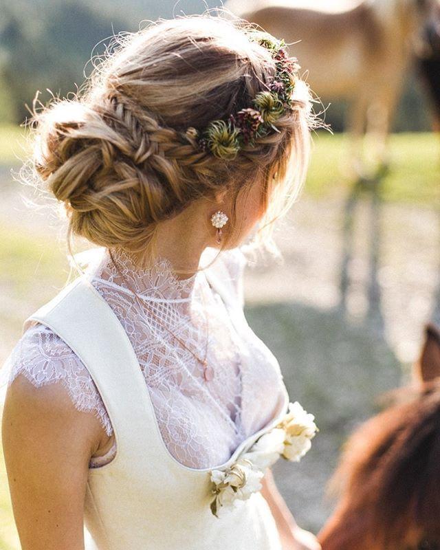 15+ Frisuren hochzeit romantisch inspiration