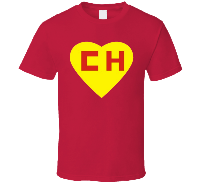 Corazon Chapulin Colorado Logo T Shirt Personalized T Shirts Graphic Apparel Chapulin Colorado
