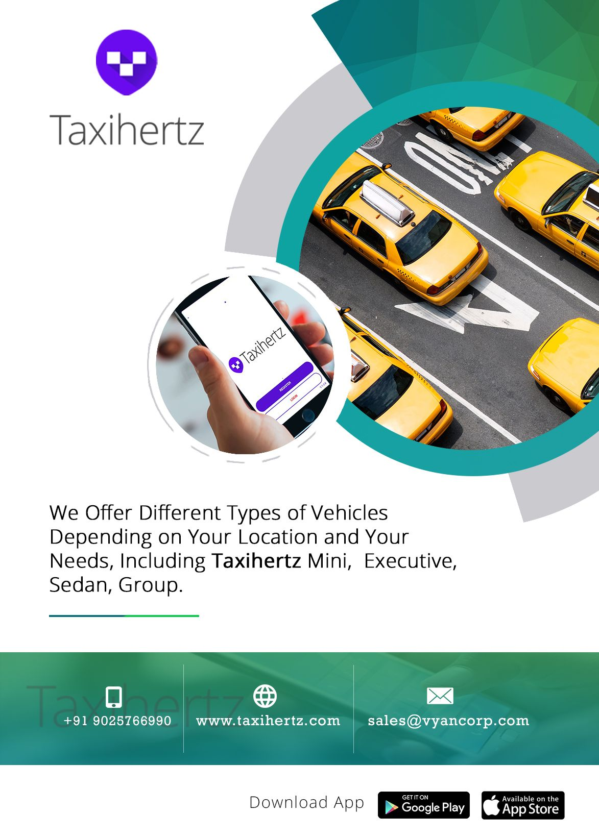 Taxi Hertz is one of the world's leading online taxi