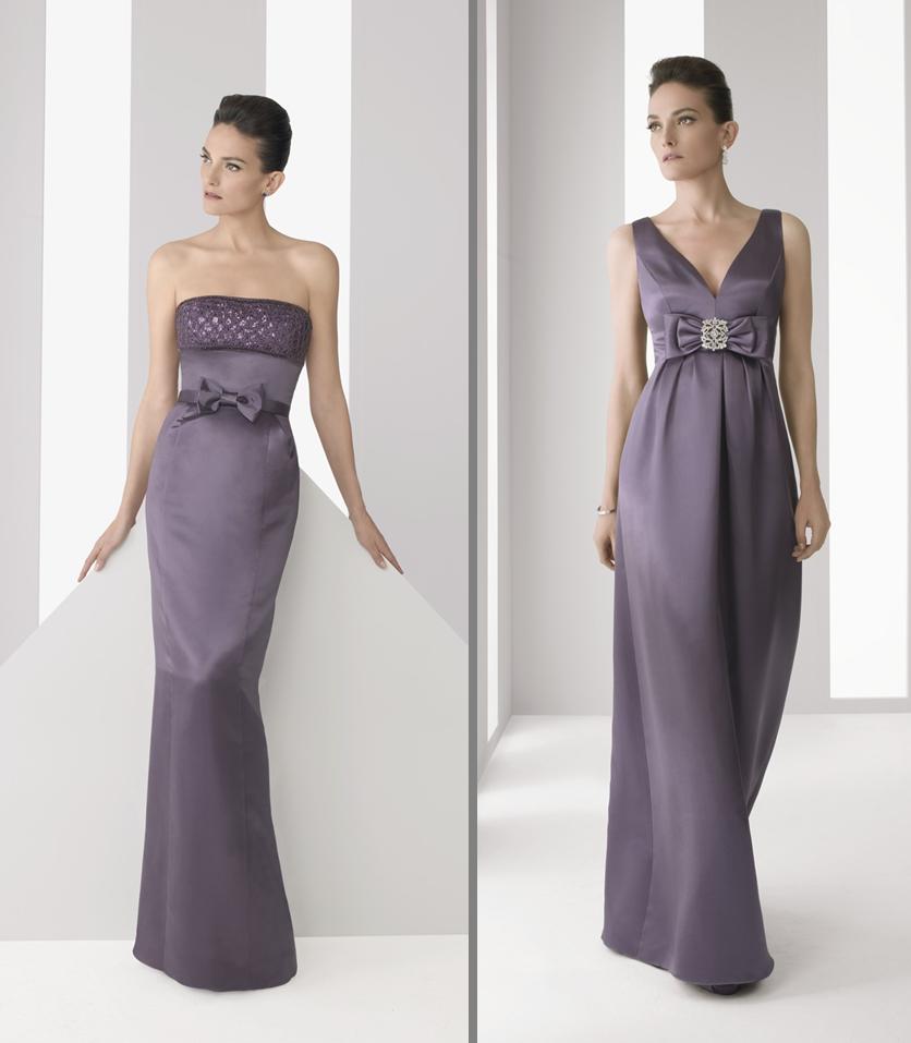 Modelos de vestidos para madrinas de bodas