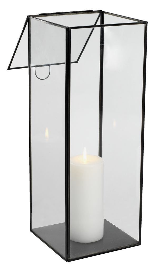 Steel Metal Pillar Candle Holder