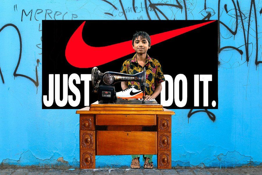 """Nike """"Just do it"""" campaign"""