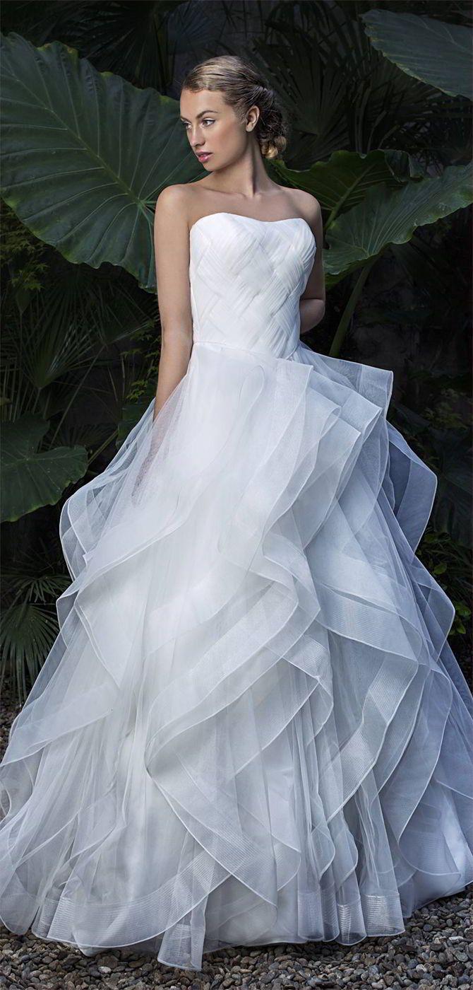 Miquel Suay 2017 Wedding Dresses | Princess bridal, Bridal dresses ...